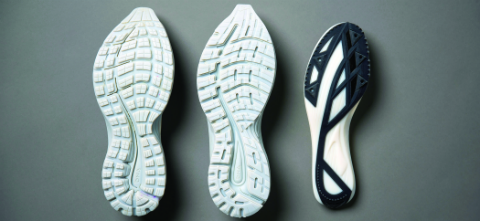 3D Printed prototyped shoe soles