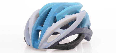 3d printed bike helmet