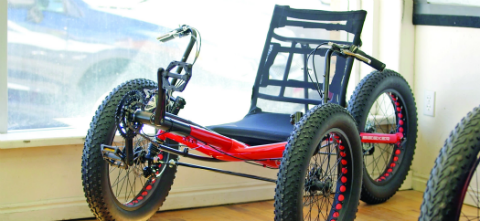 Utah Trikes uses FDM Nylon 12CF for prototypes and production parts