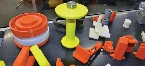 3D printed automotive production tools