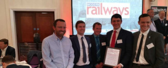 Stratasys UK Rail Industry Award