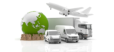 shipping trucks, cargo and transportation vehicles