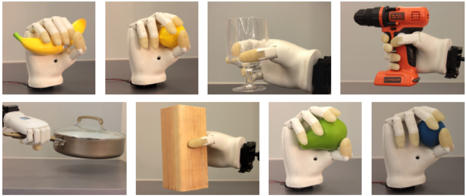 3D Printed Prosthesis Hand collage