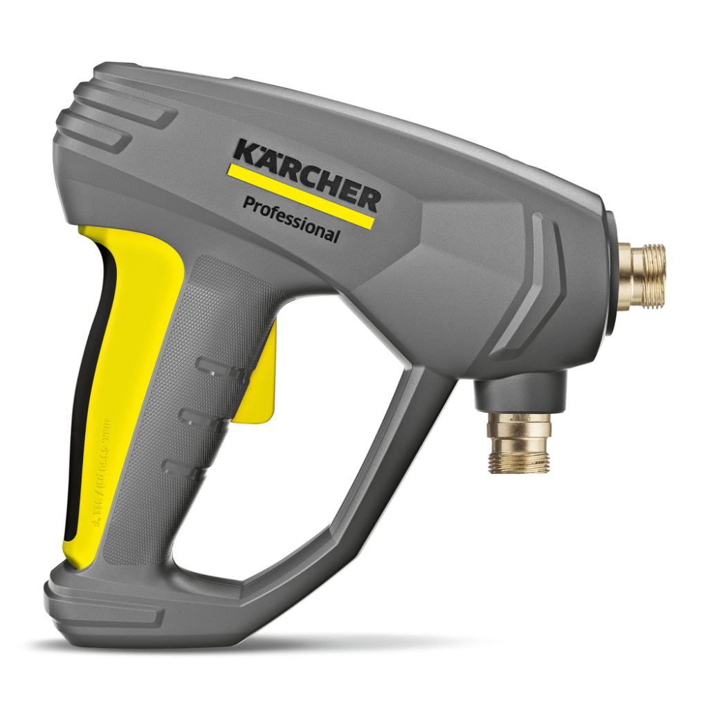 Kärcher's EASY!FORCE trigger gun's patented design incorporates several different materials with varying rigidity and complex geometries, making realistic prototyping difficult with traditional manufacturing methods.