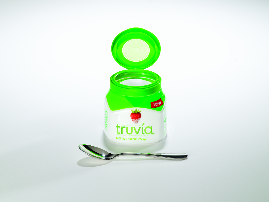 Truvia jarred packaging,