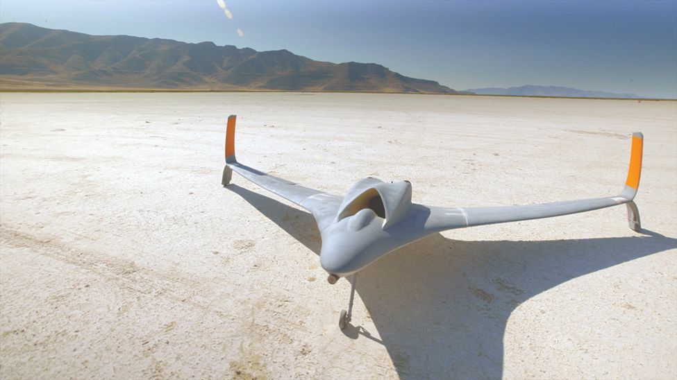 Final 3D printed jet-powered aircraft.