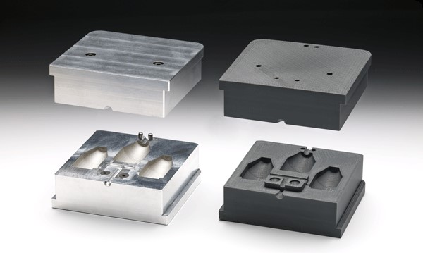 Mikkelsen replaces aluminum molds with 3D printed ULTEM™ resin molds to cast Technomelt materials at temperatures up to 200 °C.