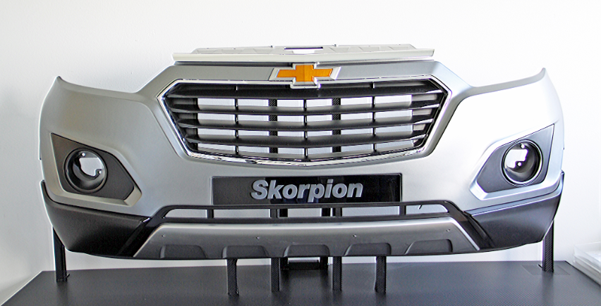 With Stratasys 3D printing, Skorpion Engineering can produce robust prototypes within 24 hours, streamlining the overall production time of vehicles.