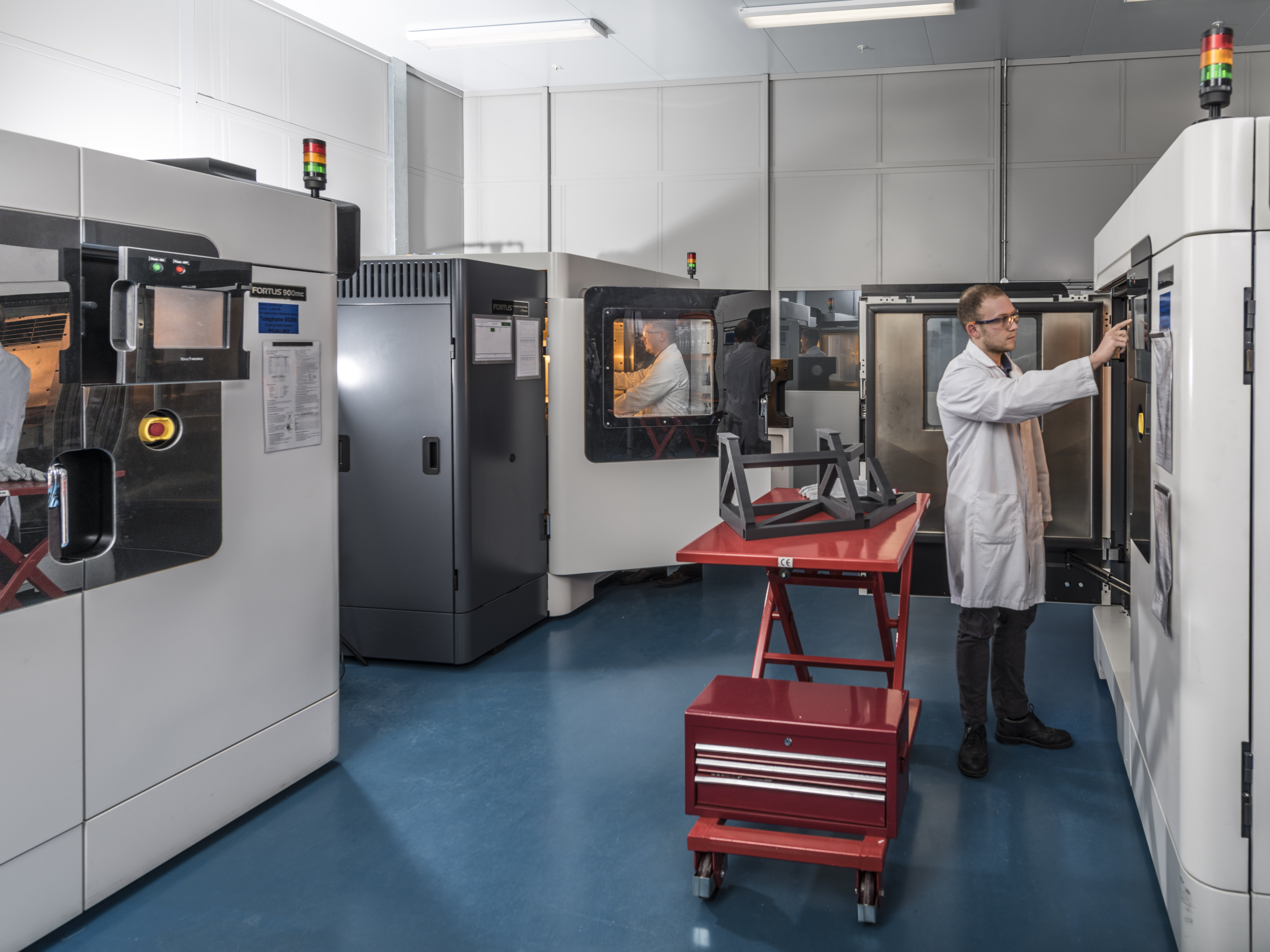 BAE Systems' fourth Stratasys F900 3D printer will serve as an integral aspect of the company's Factory of the Future initiative.
