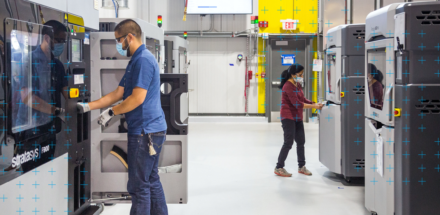 GM creating efficiencies with Stratasys 3D printers.