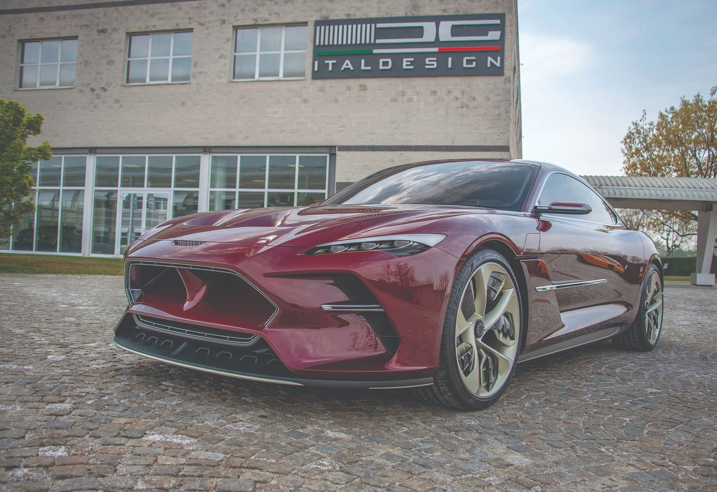 The Italdesign DaVinci concept car.
