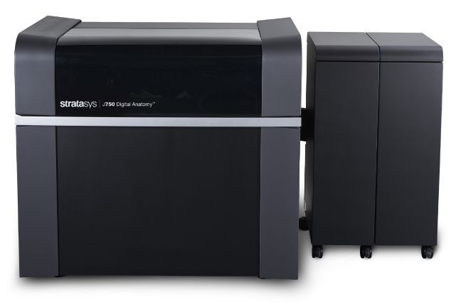 Stratasys PolyJet J750 Digital Anatomy printer.