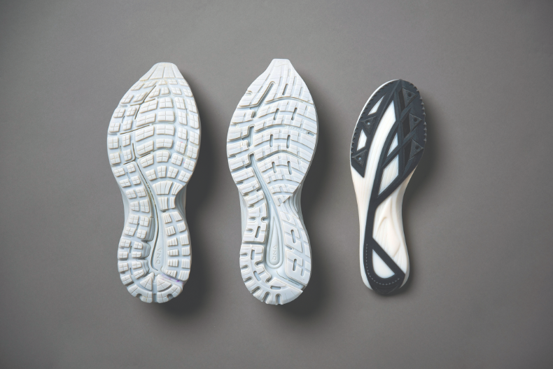 Iterating and prototyping shoes with 3D printing.