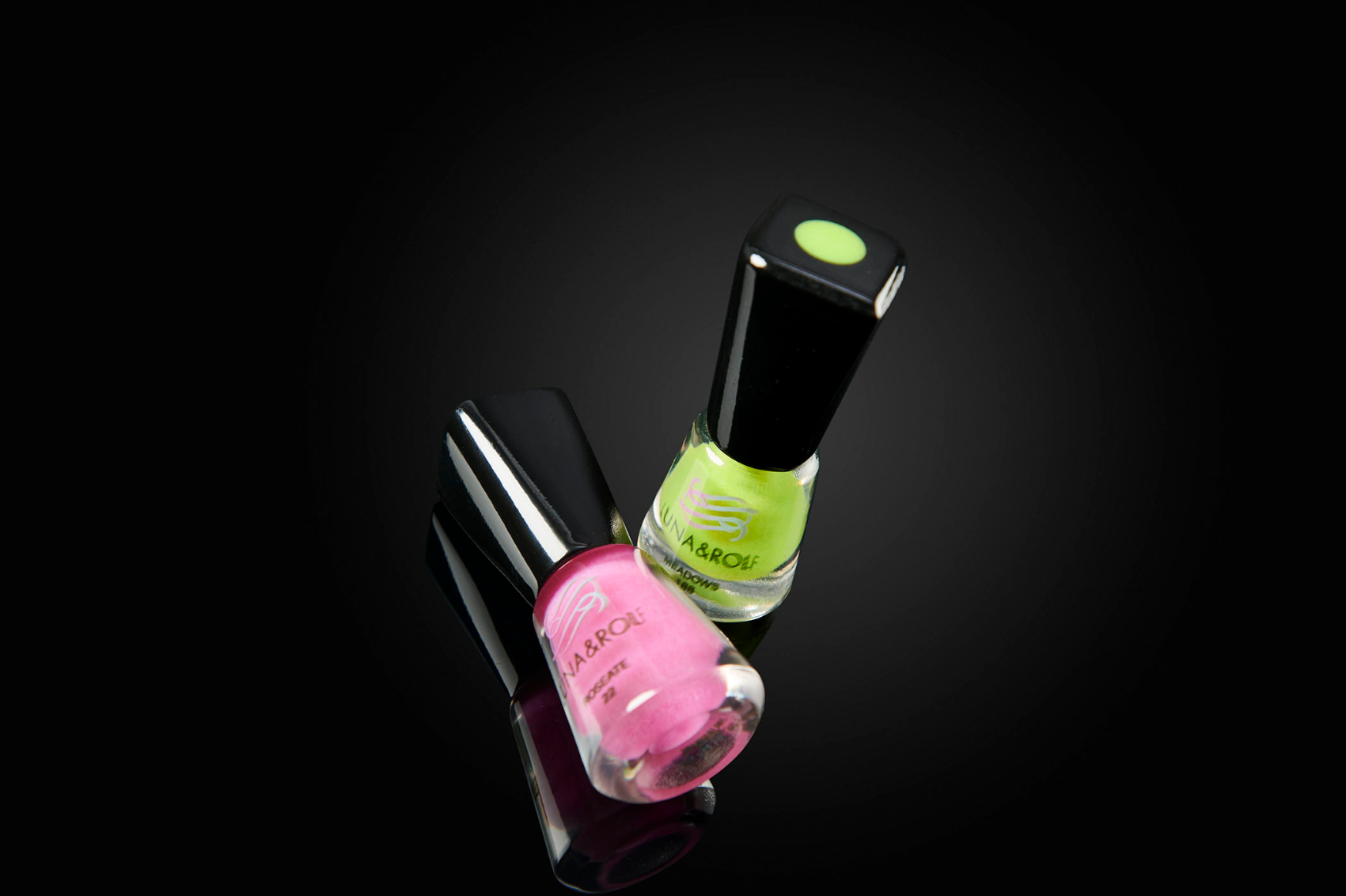 Nail polish prototypes using 3D printing technologies.
