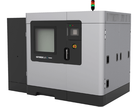 the Stratasys F900 3D printer