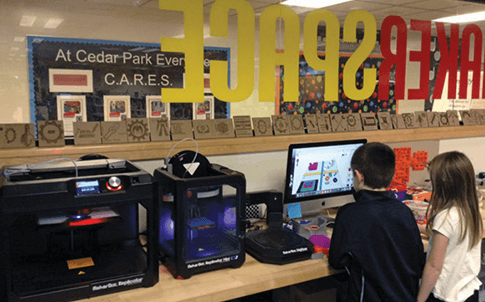 Makerspace at Cedar Park Elementary School