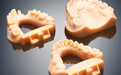 3D printed dental molds