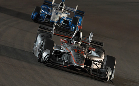 Two Penske Indy Cars