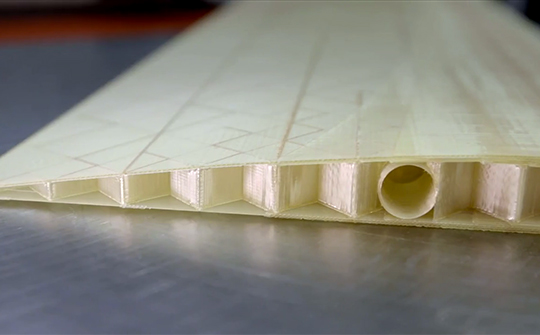 Wing utilizing Stratasys 3D Printing Solution