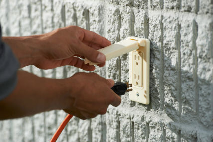a 3D printed outdoor outlet using ASA materials