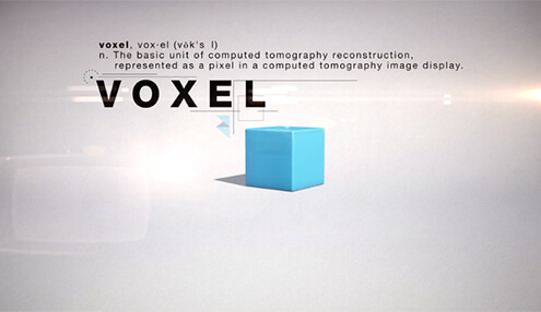 Voxel Print Video Still